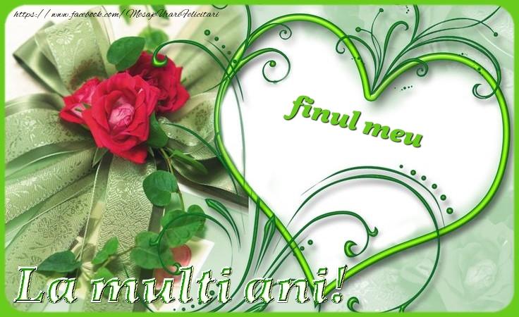Felicitari de zi de nastere pentru Fin - La multi ani finul meu