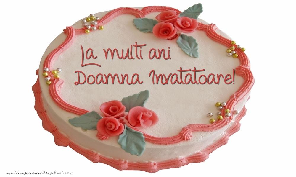Felicitari de zi de nastere pentru Invatatoare - La multi ani doamna invatatoare!