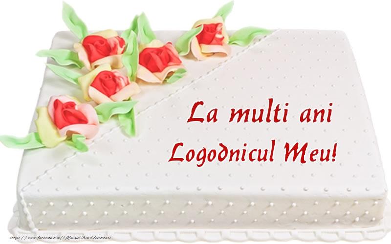 Felicitari de zi de nastere pentru Logodnic - La multi ani logodnicul meu! - Tort