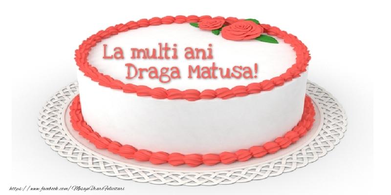 Felicitari de zi de nastere pentru Matusa - La multi ani draga matusa!