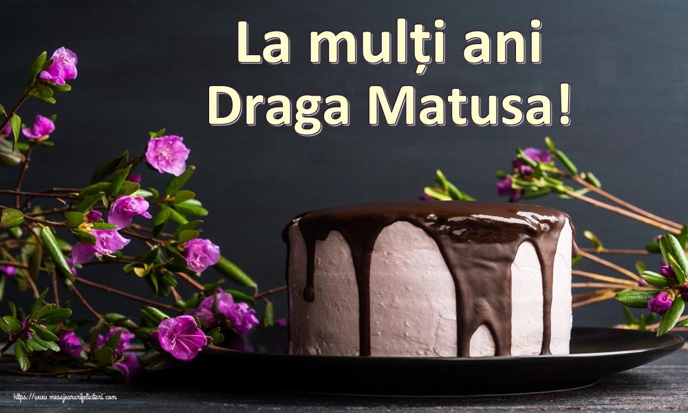 Felicitari de zi de nastere pentru Matusa - La mulți ani draga matusa!