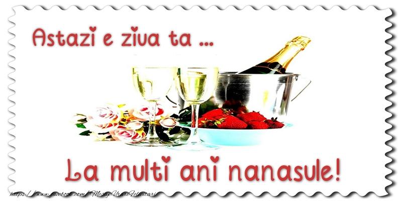 Felicitari de zi de nastere pentru Nas - Astazi e ziua ta... La multi ani nanasule!