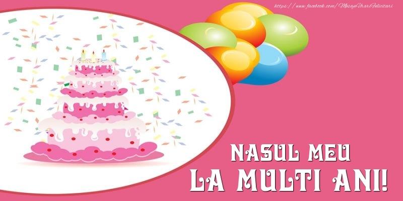 Felicitari de zi de nastere pentru Nas - Tort pentru nasul meu La multi ani!