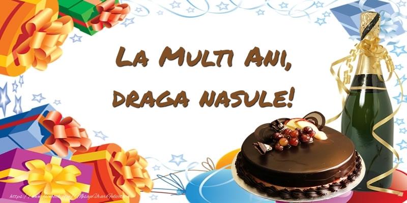 Felicitari de zi de nastere pentru Nas - La multi ani, draga nasule!