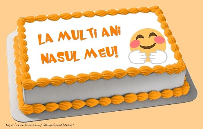 Felicitari de zi de nastere pentru Nas - Tort La multi ani nasul meu!