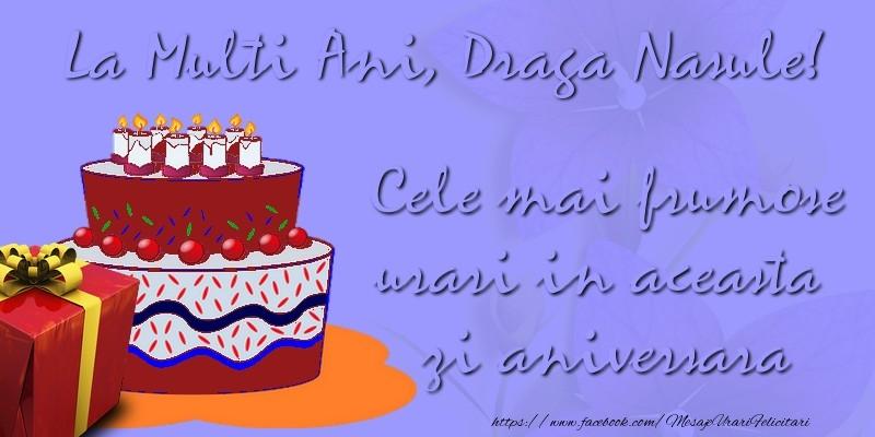 Felicitari de zi de nastere pentru Nas - Cele mai frumose urari in aceasta zi aniversara. La multi ani, draga nasule