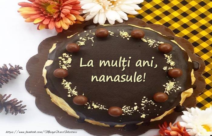 Felicitari de zi de nastere pentru Nas - La mulți ani, nanasule! Tort