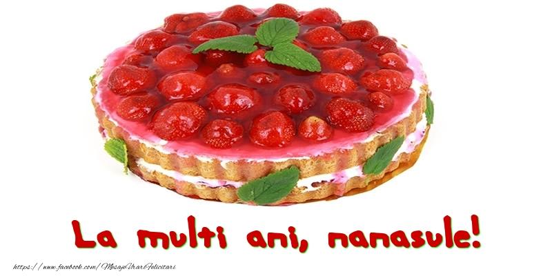Felicitari de zi de nastere pentru Nas - La multi ani, nanasule!