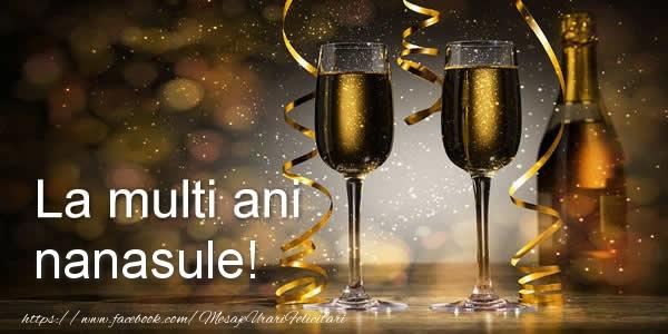 Felicitari de zi de nastere pentru Nas - La multi ani nanasule!