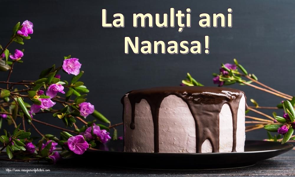 Felicitari de zi de nastere pentru Nasa - La mulți ani nanasa!