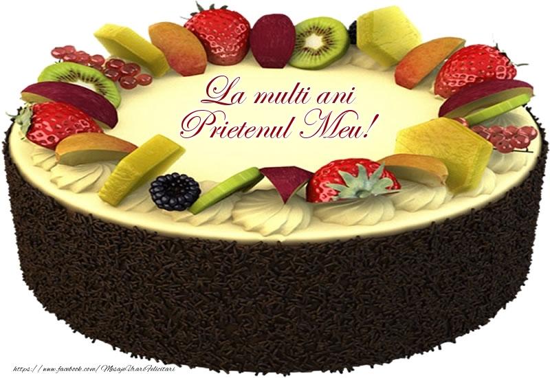 Felicitari de zi de nastere pentru Prieten - La multi ani prietenul meu!