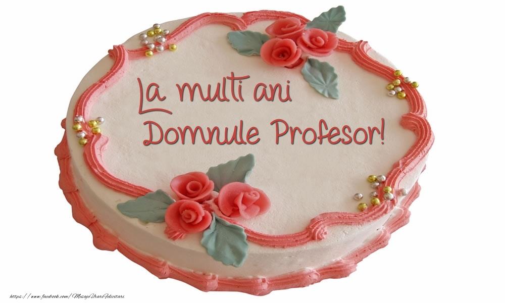 Felicitari de zi de nastere pentru Profesor - La multi ani domnule profesor!