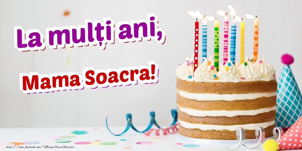 Felicitari de zi de nastere pentru Soacra - La mulți ani, mama soacra