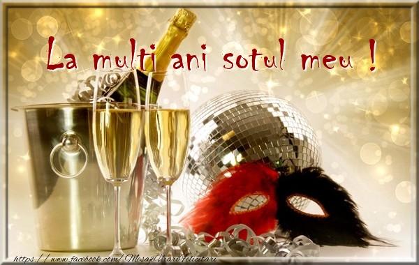 Felicitari de zi de nastere pentru Sot - La multi ani sotul meu !