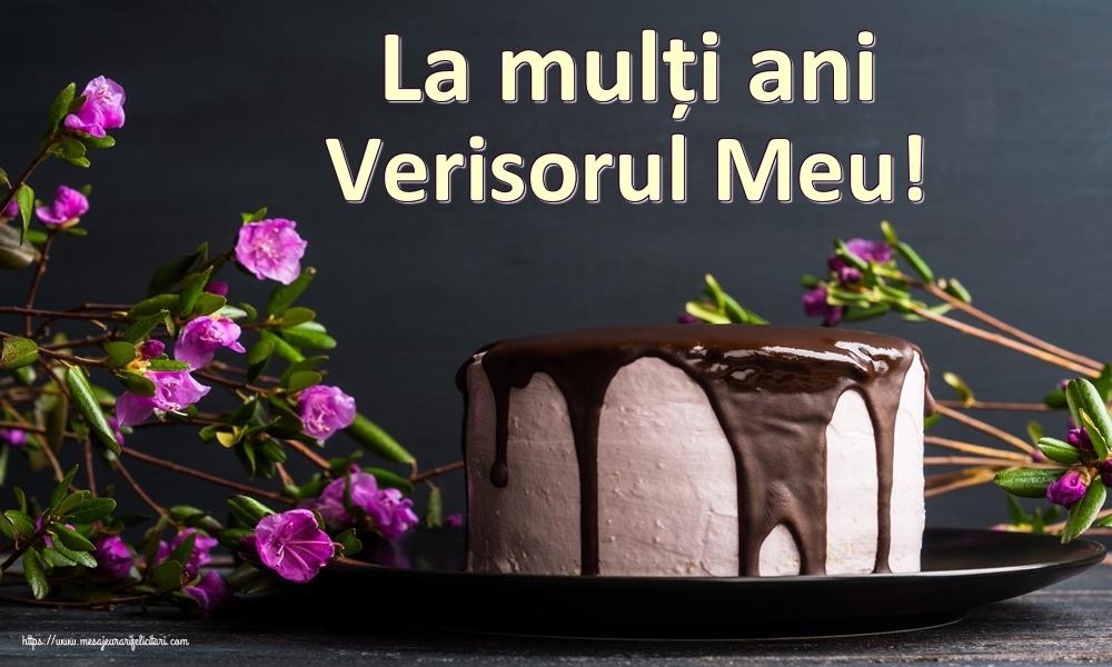 Felicitari de zi de nastere pentru Verisor - La mulți ani verisorul meu!