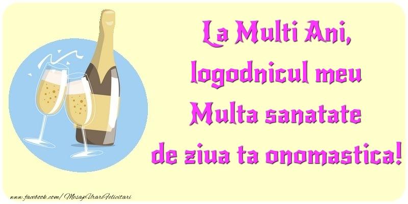 Felicitari de Ziua Numelui pentru Logodnic - La Multi Ani, Multa sanatate de ziua ta onomastica! logodnicul meu