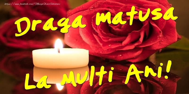 Felicitari de Ziua Numelui pentru Matusa - Draga matusa La Multi Ani!