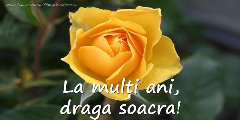 Felicitari de Ziua Numelui pentru Soacra - La mulți ani, draga soacra!