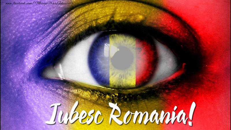 Felicitari personalizate de 1 Decembrie - Iubesc Romania