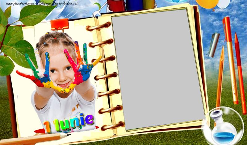Felicitari personalizate de 1 Iunie - Ziua Copiilor