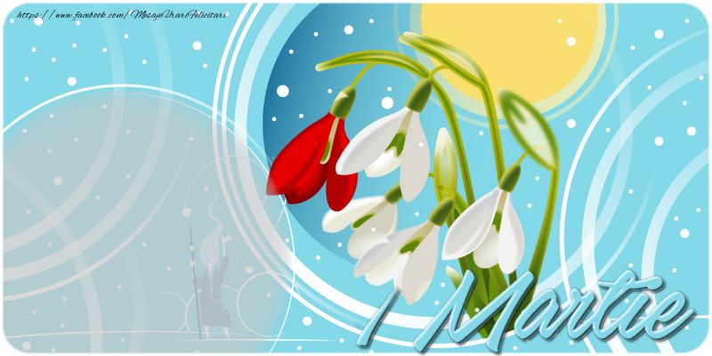 Felicitari personalizate de 1 Martie - 1 Martie