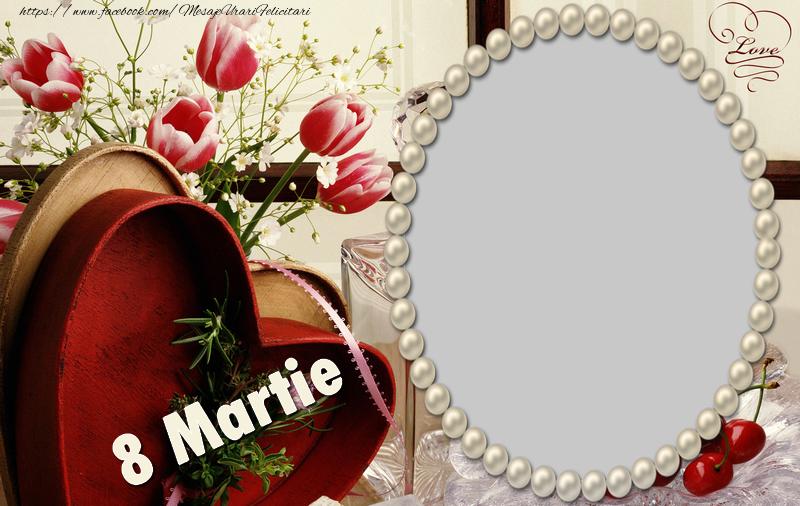 Felicitari personalizate de 8 Martie - Felicitare de 8 Martie