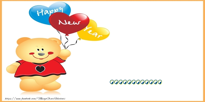 Felicitari personalizate de Anul Nou - Happy New Year ...!