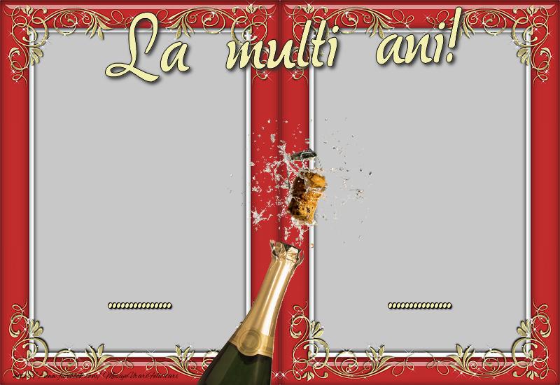Felicitari personalizate de Anul Nou - La multi ani, ..., ...