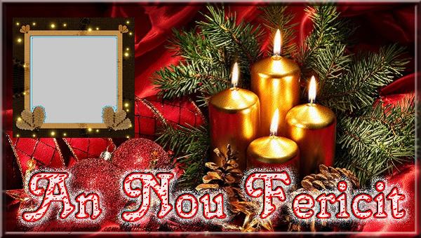 Felicitari personalizate de Anul Nou - An Nou Fericit