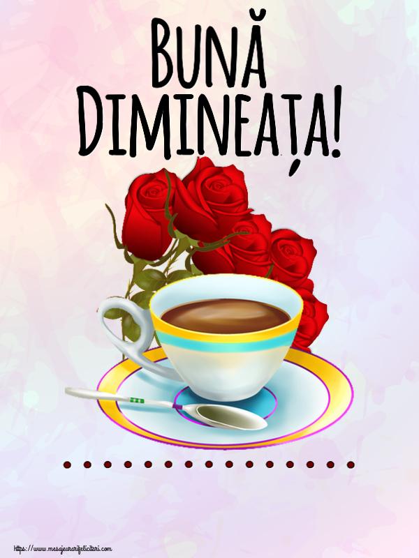 Felicitari personalizate de buna dimineata - Bună Dimineața! ...