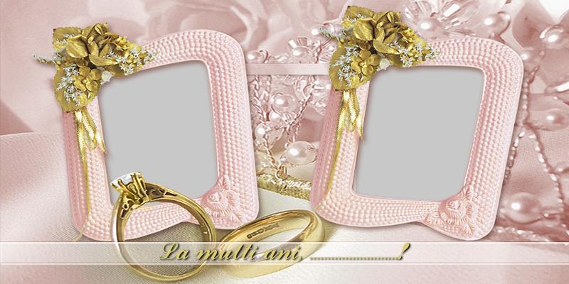 Felicitari personalizate de Casatorie - La multi ani! ...