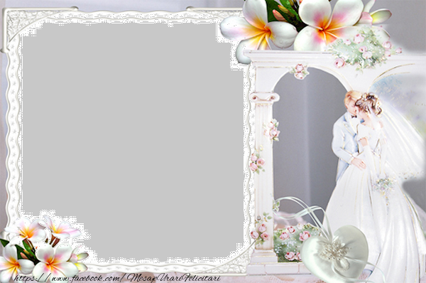 Felicitari personalizate de Casatorie - Casa de piatra!