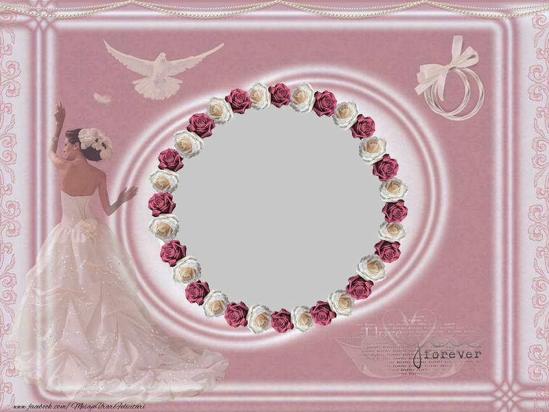 Felicitari personalizate de Casatorie - Felicitare pentru casatorie