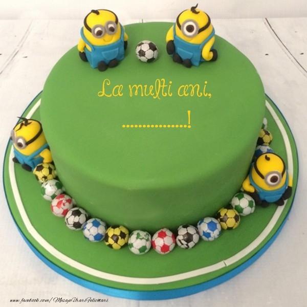 Felicitari personalizate pentru copii - La multi ani, ...!