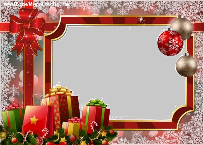 Felicitari personalizate de Craciun - Merry Christmas