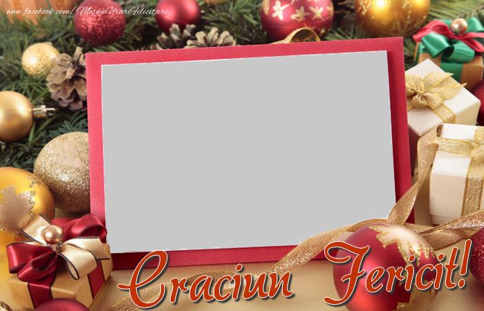 Felicitari personalizate de Craciun - Craciun Fericit