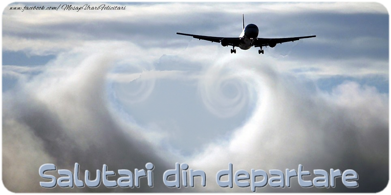 Felicitari personalizate Diverse - Salutari din departare