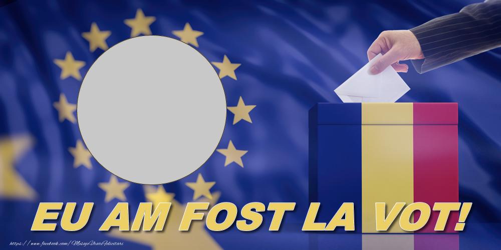 Felicitari personalizate Diverse - EU AM FOST LA VOT!