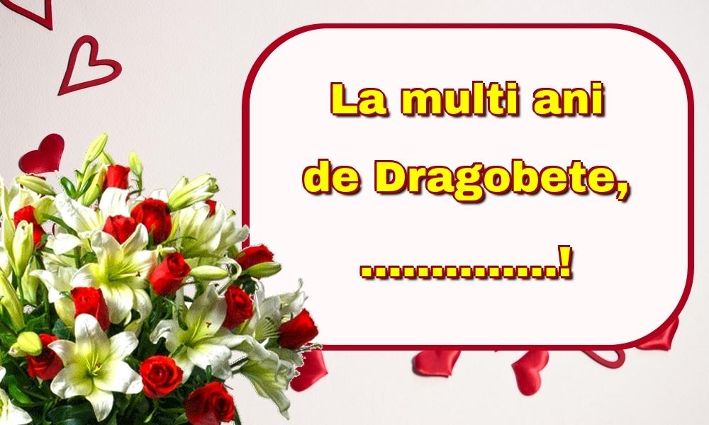 Felicitari personalizate de Dragobete - La multi ani de Dragobete, ...!