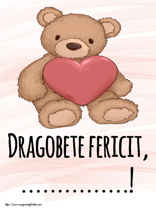 Felicitari personalizate de Dragobete - Dragobete fericit, ...!