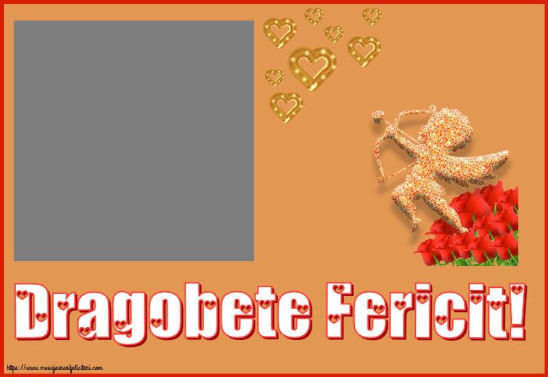 Felicitari personalizate de Dragobete - Dragobete Fericit! - Personalizeaza cu poza ta de profil facebook