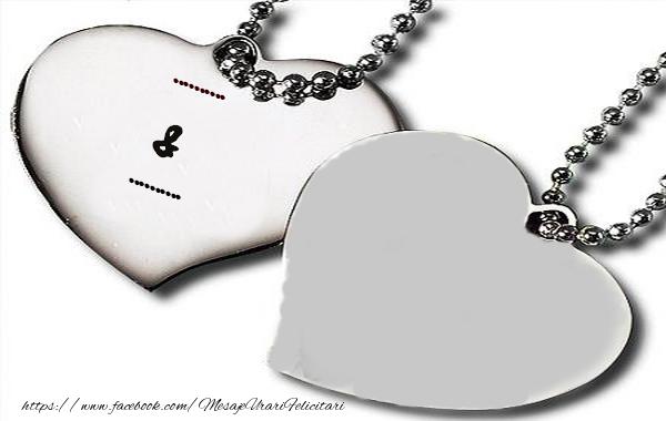 Felicitari personalizate de dragoste - Pandativ
