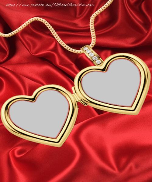 Felicitari personalizate de dragoste - Creeaza-ti medalionul