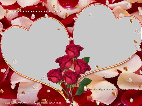 Felicitari personalizate de dragoste - ... te iubesc ...