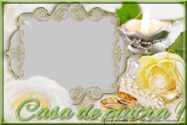 Felicitari personalizate de dragoste - Casa de piatra !