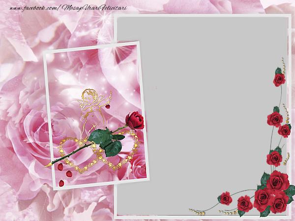 Felicitari personalizate de dragoste - Rama foto