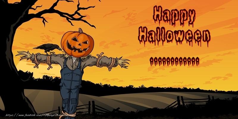 Felicitari personalizate de Halloween - Happy Halloween ...!