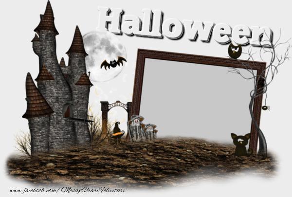 Felicitari personalizate de Halloween - Halloween
