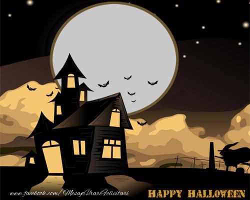 Felicitari personalizate de Halloween - Happy Halloween!