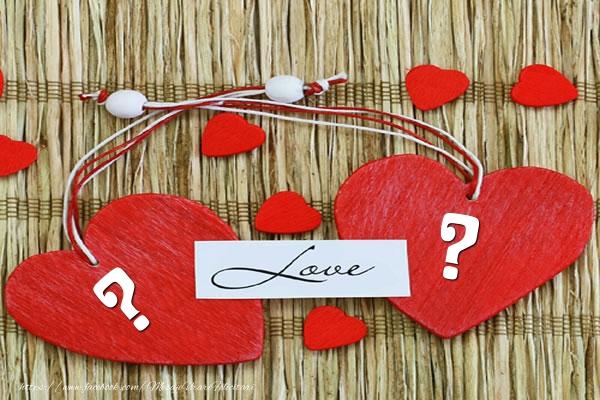 Felicitari personalizate cu Initialele Numelor - ... Love ...